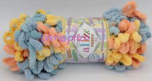ALIZE Puffy Color 6314 vícebarevná