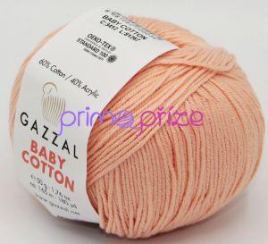GAZZAL Baby Cotton 3412 meruňková