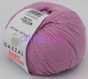 GAZZAL Baby Cotton 3422 fialkovorůžová