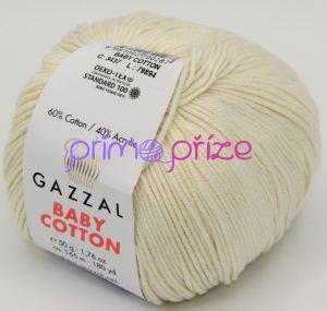 GAZZAL Baby Cotton 3437 krémová