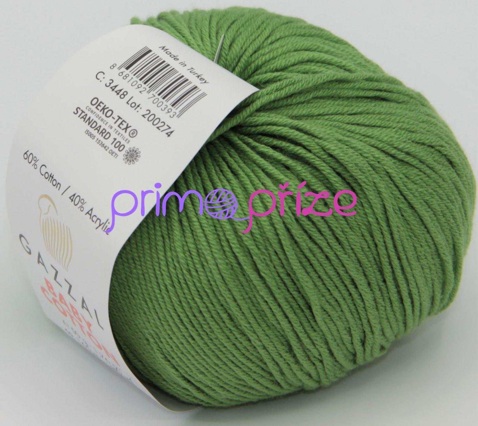 GAZZAL Baby Cotton 3448 zelená
