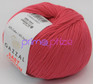 GAZZAL Baby Cotton 3458 sytá lososová