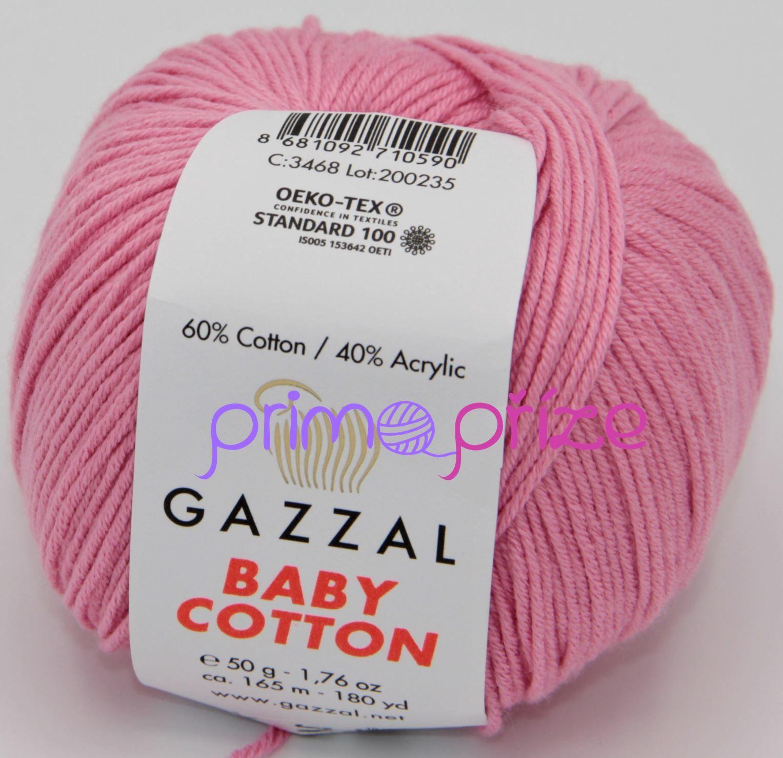 GAZZAL Baby Cotton 3468 růžová