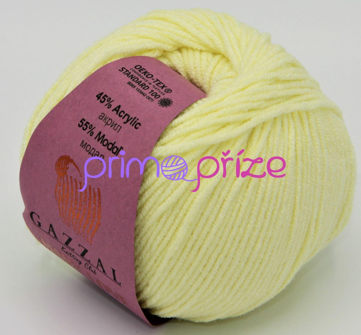 GAZZAL Baby Love 1608 světlounce žlutá