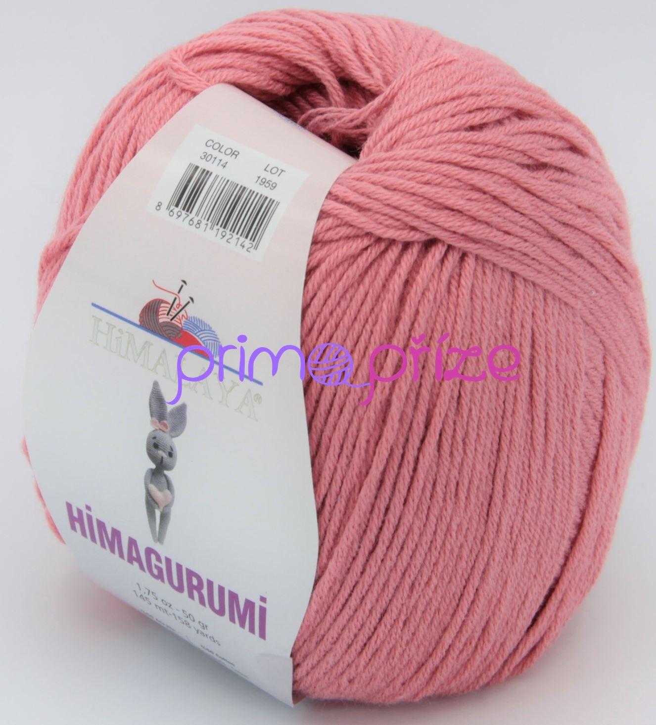 HIMALAYA Himagurumi 30114 starorůžová