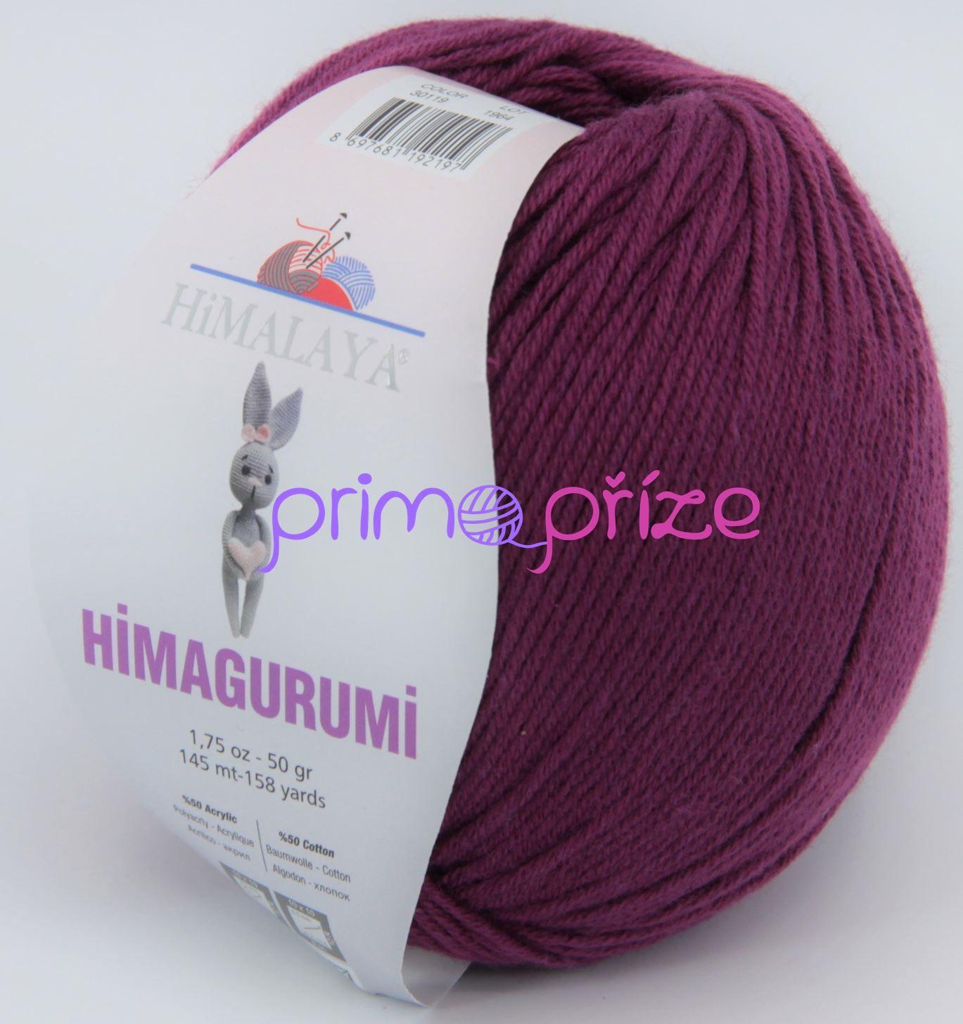 HIMALAYA Himagurumi 30119 fialovo-vínová