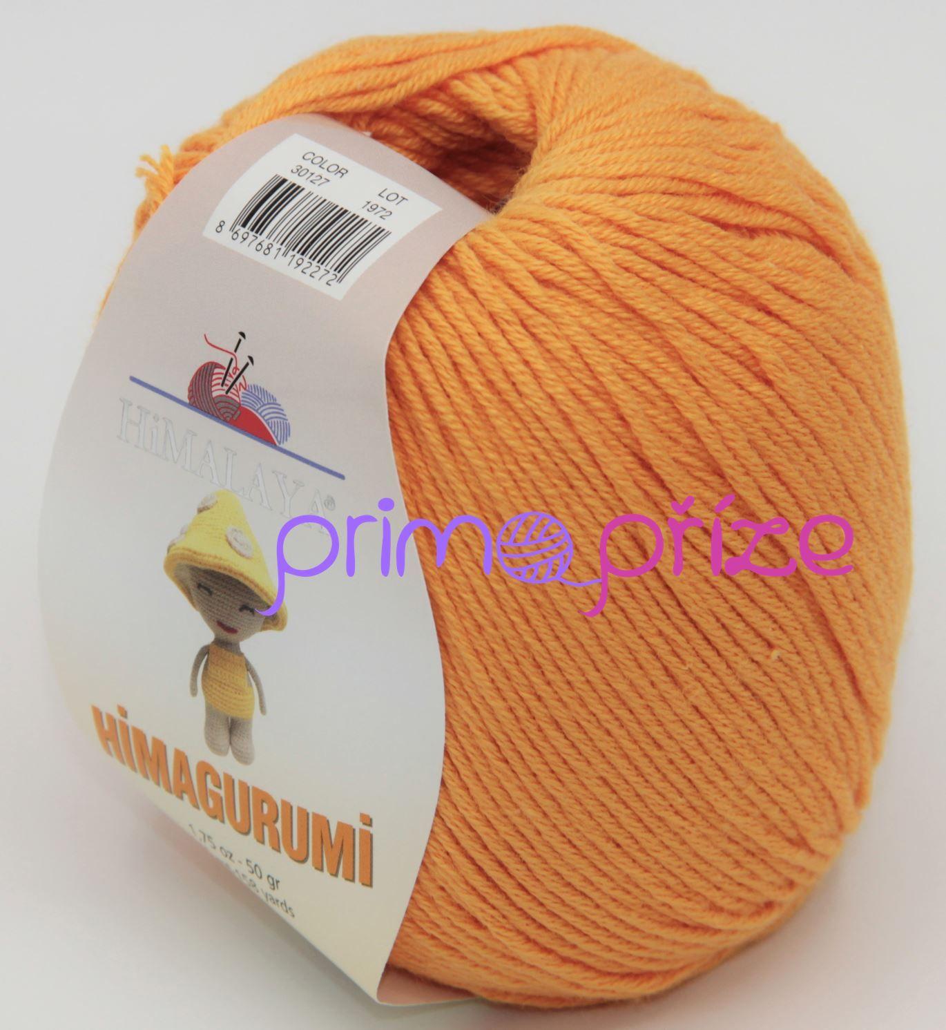 HIMALAYA Himagurumi 30127 oranžová