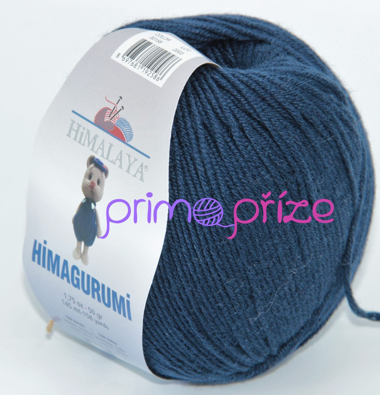 HIMALAYA Himagurumi 30158 tmavě modrá