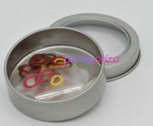 Plastový označovač oček sada 15ks mix barev v krabičce