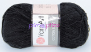 YarnArt Cotton Soft 53 černá