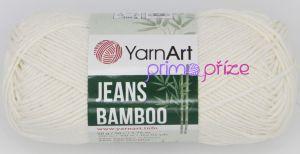 YarnArt Jeans Bamboo 102 smetanová