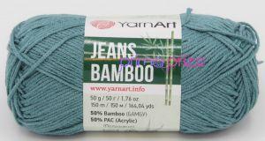 YarnArt Jeans Bamboo 121 azurová