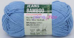 YarnArt Jeans Bamboo 122 modrá