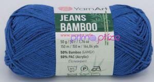YarnArt Jeans Bamboo 123 královská modrá
