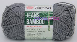 YarnArt Jeans Bamboo 128 šedá