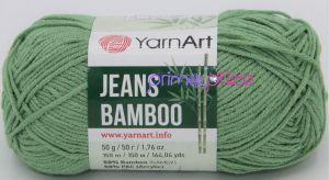YarnArt Jeans Bamboo 138 zelená