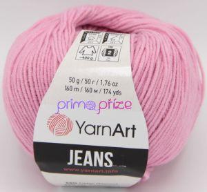 YarnArt Jeans/Gina 20 růžová