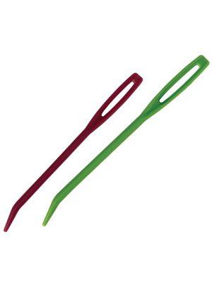 Jehly plastové na vlnu sada 4ks KnitPro