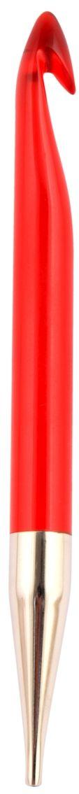 KnitPro Trendz plastový šroubovací háček na tuniské háčkování 12,0mm